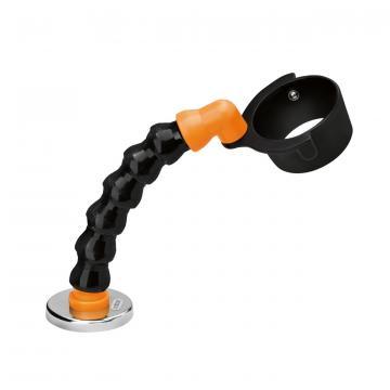 Suport flexibil pentru pistol aer cald cu picior cu magnet.