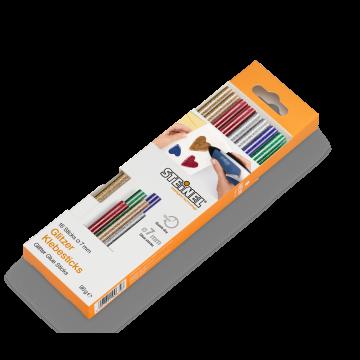 Batoane lipire cu sclipici ∅ 7 mm