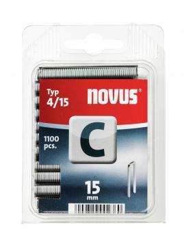 Tip C 4/15 mm zincate 1100 bucăți