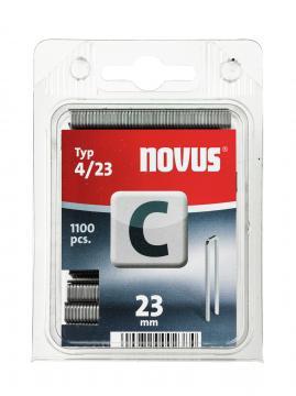 Tip C 4/23 mm zincate 1100 bucăți