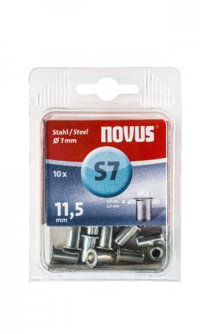 S7 5 x 11,5 mm M5 oțel 10 bucăți