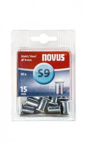 S9 6 x 15 mm M6 oțel 10 bucăți