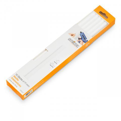 Batoane lipire Ø 11 mm alb 10 ea. (250 g)