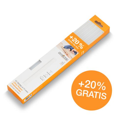 Batoane lipire Ø 11 mm Ultra Power 10 ea. (300 g)