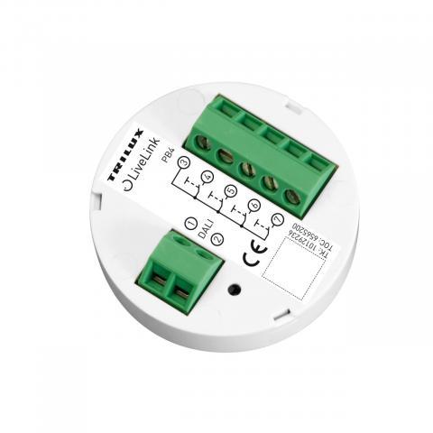 Cuplor cu buton DALI 4x LiveLink