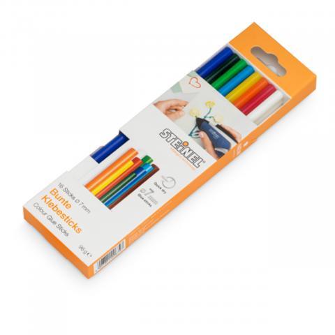 Batoane colorate Ø 7 mm 16 ea. (96 g)