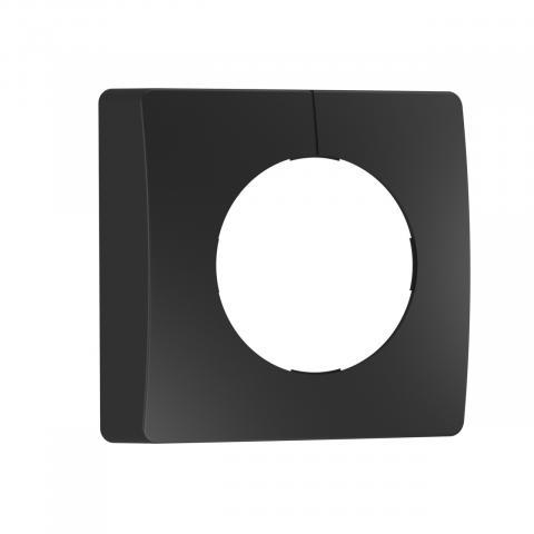 Capac negru pentru senzori IR aparent, pătrat