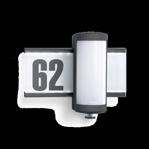 L 625 LED aluminiu antracit