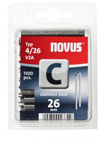 Tip C 4/26 mm zincate 1100 bucăți