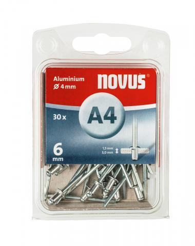 A 4 x 6 mm aluminiu 30 bucăți 30 ea.