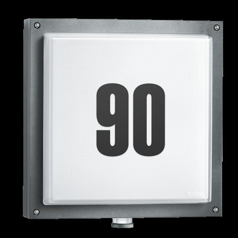 L 690 LED PMMA antracit