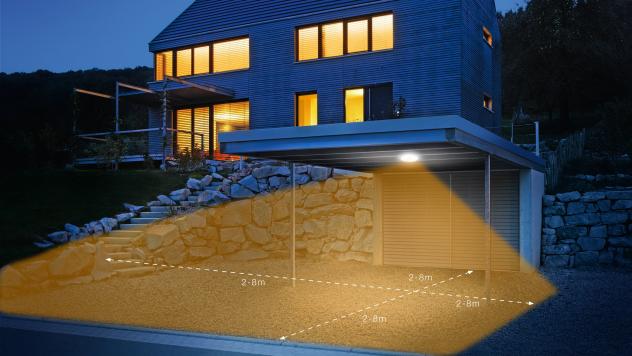 DL Vario Quattro LED Argintiu