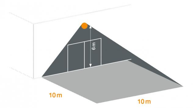 XLED PRO Square XL negru