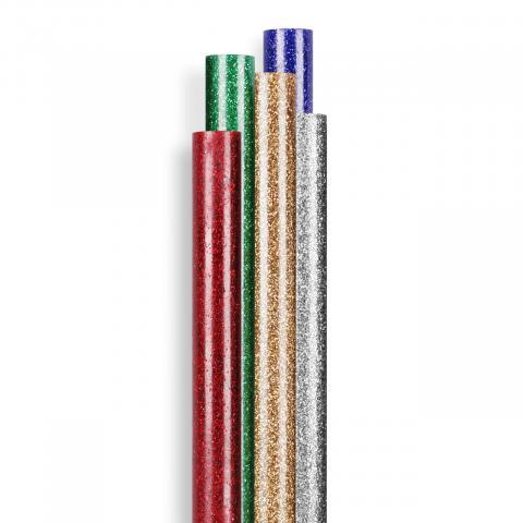 Batoane lipire cu sclipici ∅ 7 mm 16 ea. (96 g)