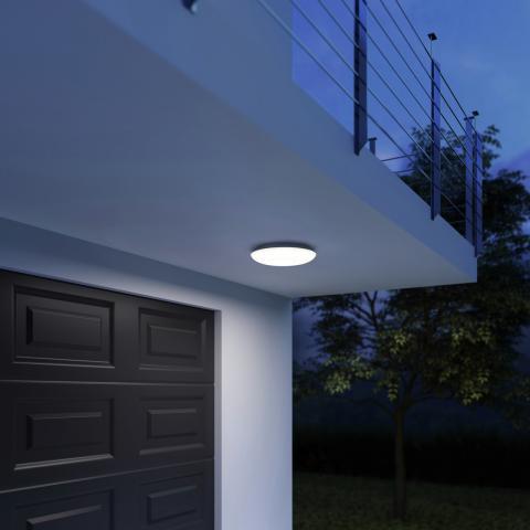 DL Vario Quattro PRO LED cald alb - antracit
